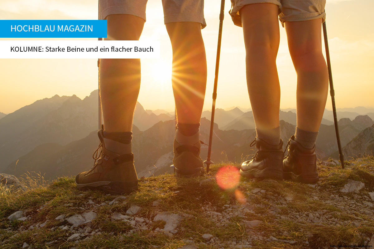 STARKE BEINE Wolfgang's Kolumne - hochblau PREMIUM Preview | Foto: helivideo stock.adobe.com