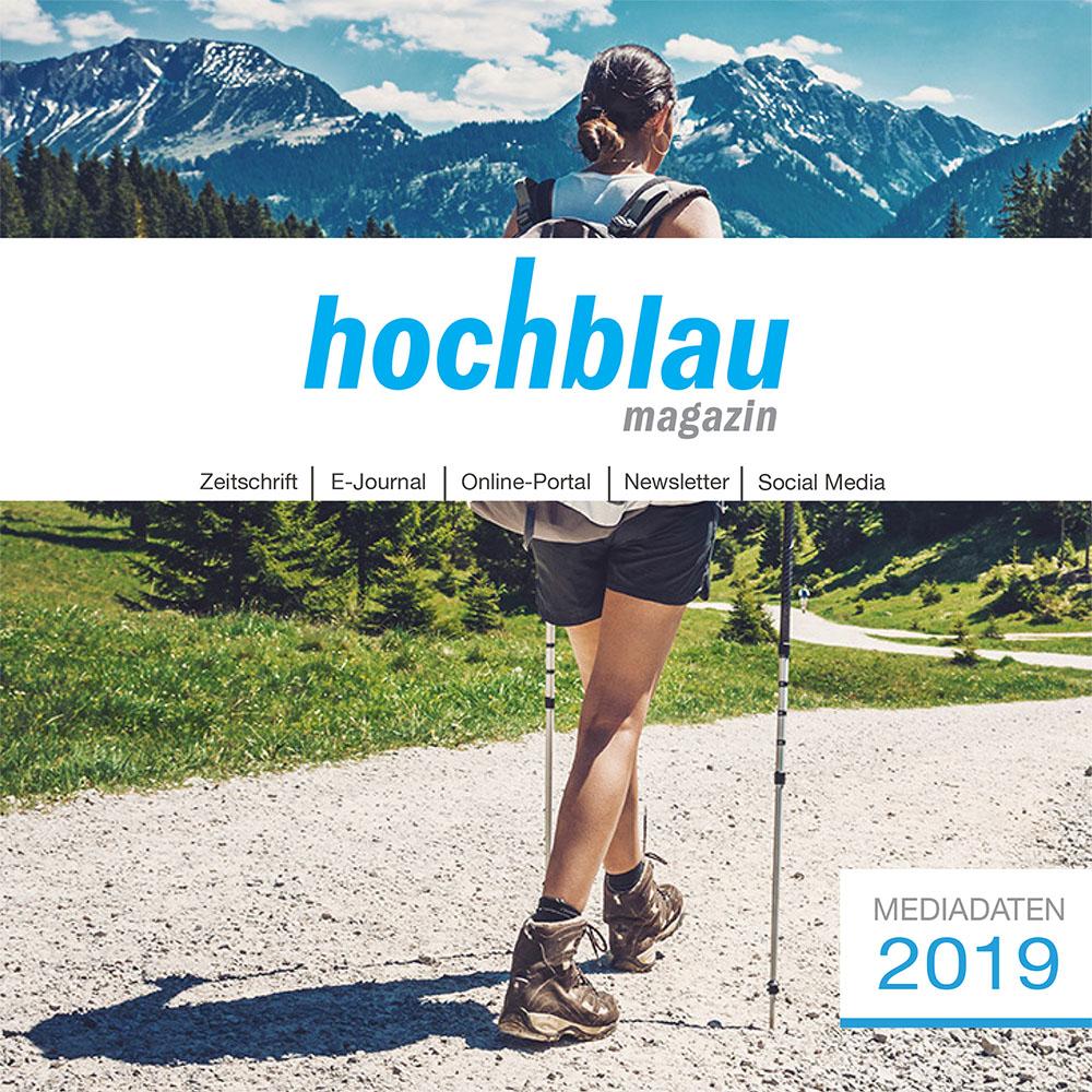 hochblau Magazin Mediadaten 2019