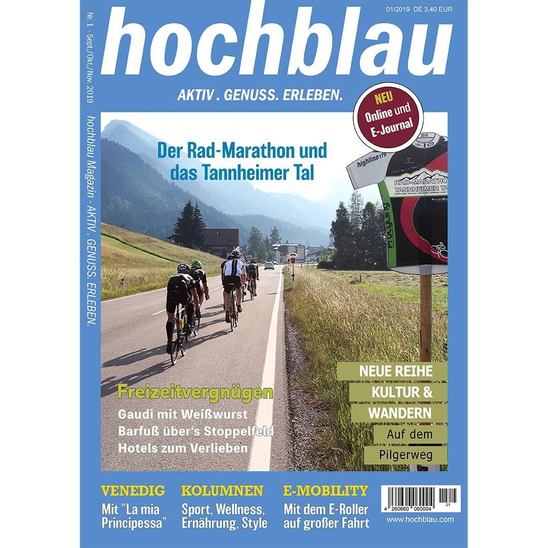 hochblau Magazin 01/2019 vom 19.09.2019 digital als E-Journal und E-Paper (PDF)