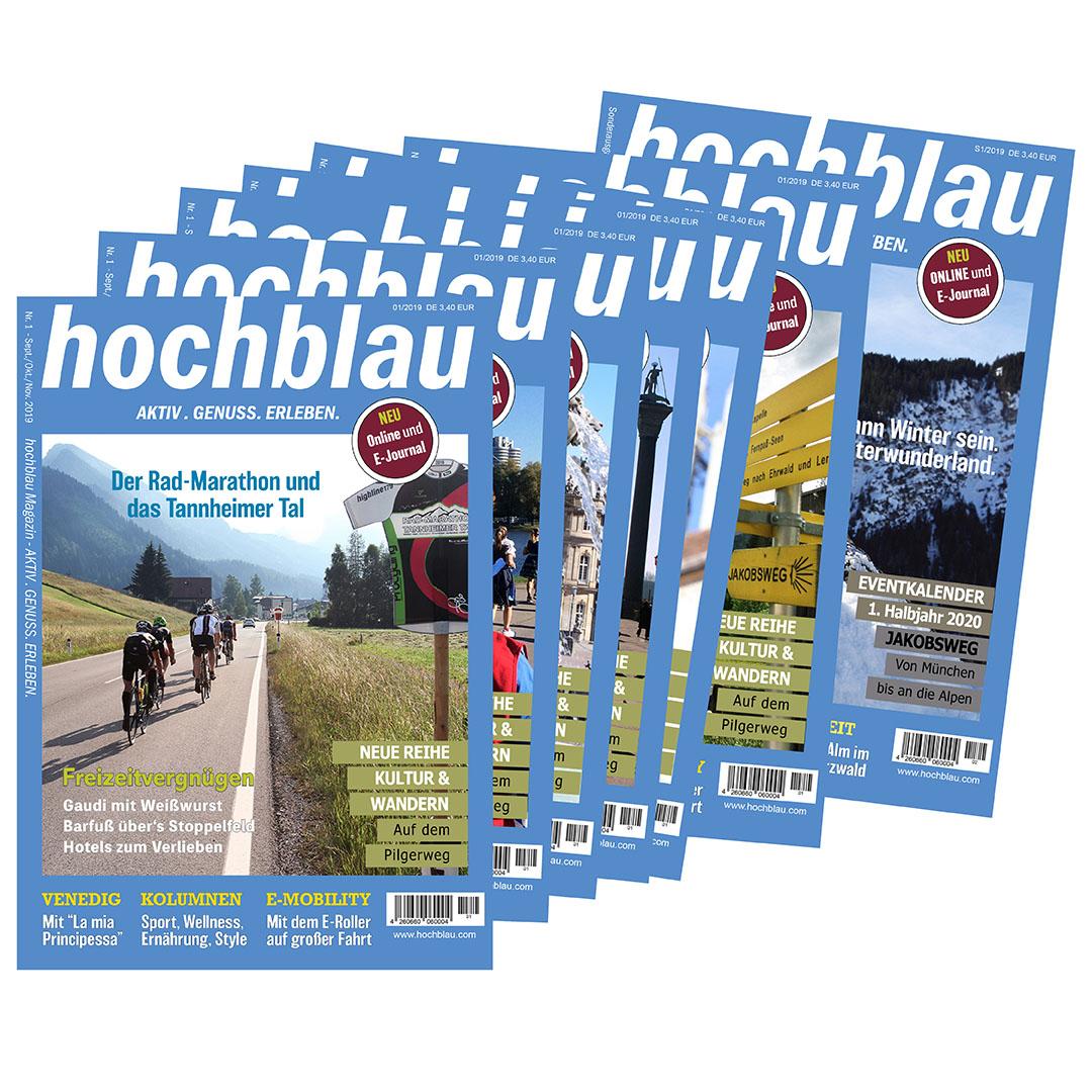 hochblau Magazin DIGITAL-Abo zum Vorteilspreis inklusive PREMIUM