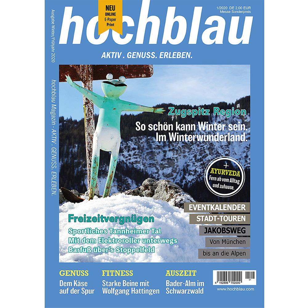 hochblau Magazin 1/2020 vom 27.02.2020 Print und digital