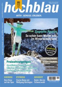 hochblau PREMIUM Schnupper-Abo 3 Monate inklusive digitales Magazin + hochblau Print-Magazin 1/2020 | Copyright: hochblau Verlag